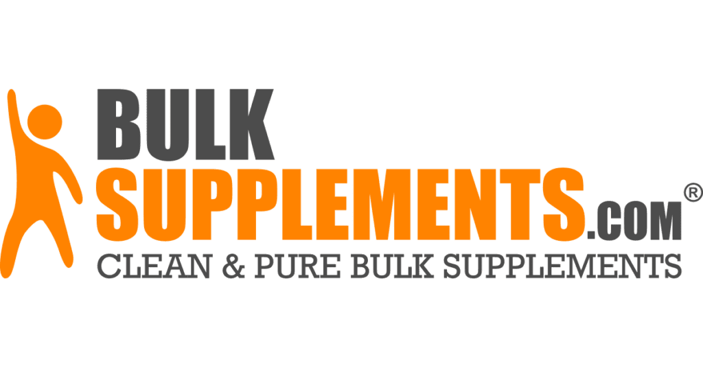 Bulk Supplements makes high-quality inexpensive supplements, with no additives, flavorings, or preservatives so I can make my own mixes!