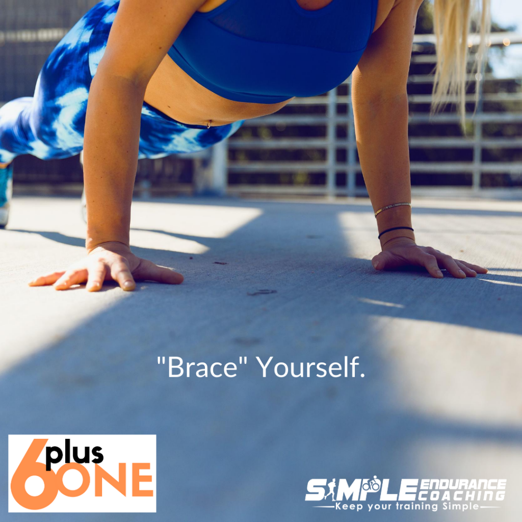 Doing active isometric core work for endurance sports builds core support, stability, and strength that helps ease of movement and endurance.