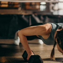 Women need heavy strength training to counter the loss of lean muscle mass as they age. This means doing low-rep, high-weight strength training.