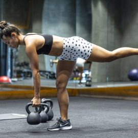 Doing unilateral lower body work strengths and re-balances your hips, legs, and ankles.